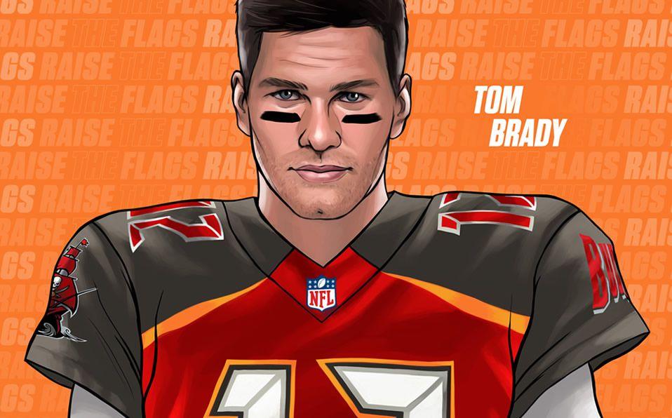 tom brady es nuevo jugador de tampa bay buccaneers en nfl mediotiempo tampa bay buccaneers en nfl