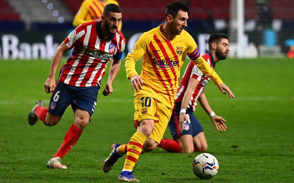 Atlético de Madrid vs Barcelona (1-0): Messi se fue sin goles - Mediotiempo