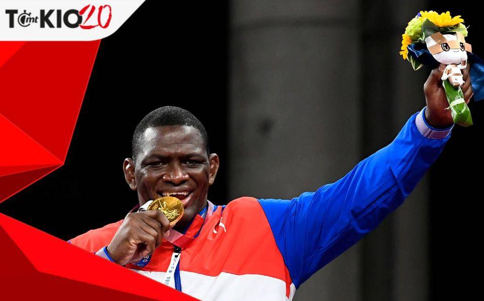 Mijaín López ganó su cuarto Oro consecutivo en Lucha Grecorromana -  Mediotiempo