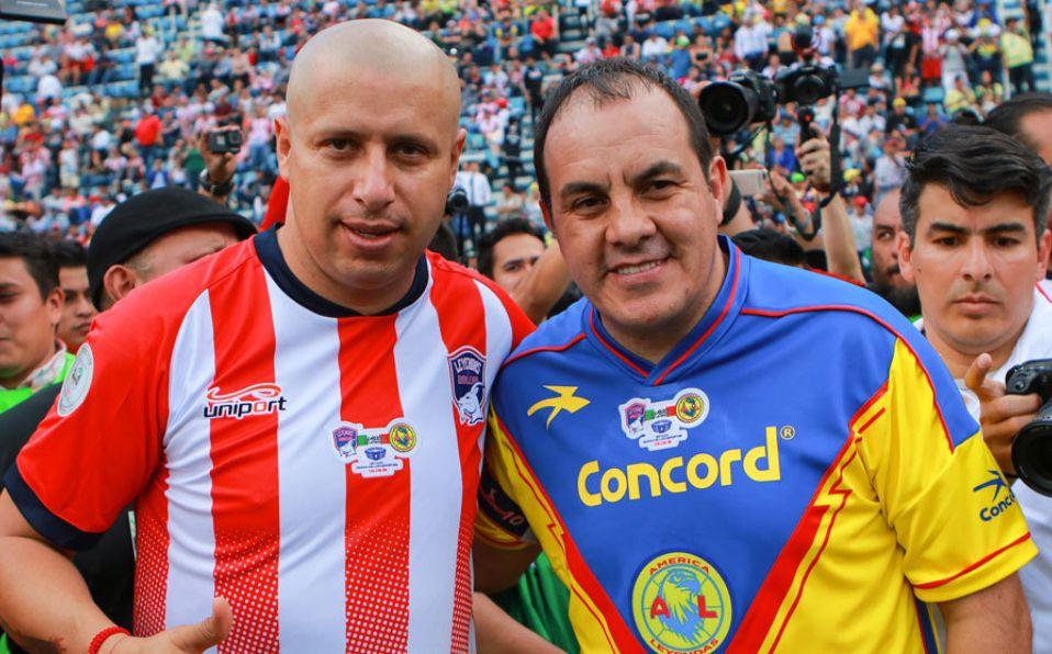 Chivas 1 1 América Juego De Leyendas En El Azul Bofo Y