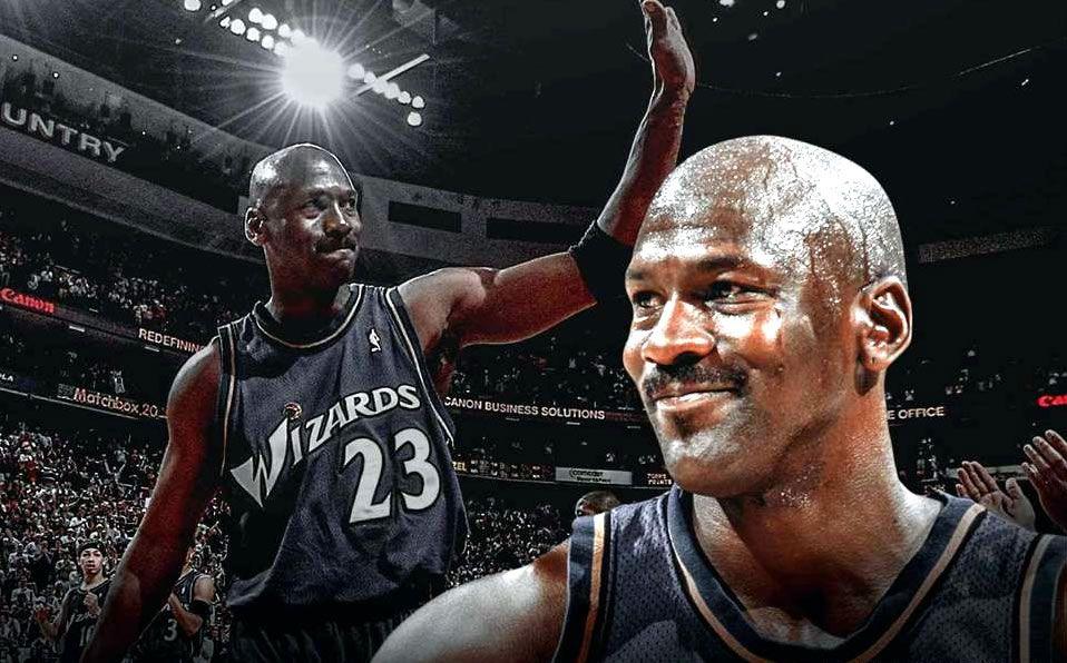 Buena suerte gerente zona  Michael Jordan: Aniversario de su retiro y último partido NBA - Mediotiempo