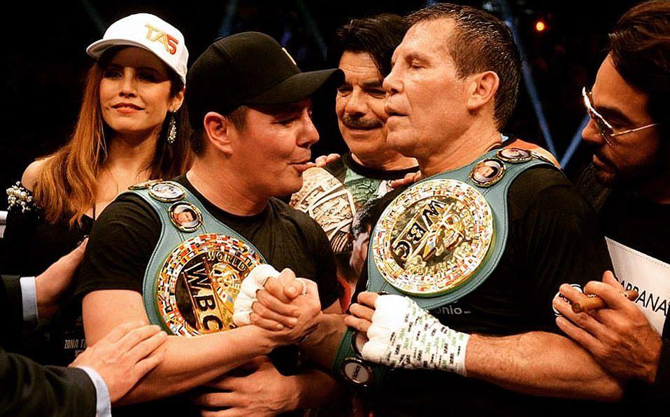 Julio César Chávez vs Jorge Travieso Arce: la pelea completa en ...