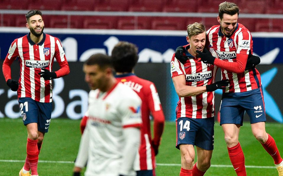 Atlético de Madrid liga sexto triunfo en LaLiga y se mantiene de líder -  Mediotiempo