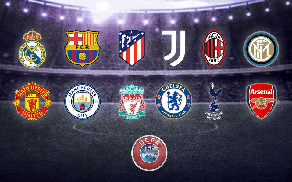 Anuncian SuperLiga europea! 12 grandes clubes 'retan' a la UEFA - Mediotiempo