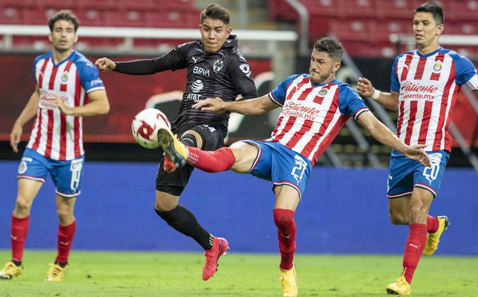 Chivas vs Monterrey (1-1): Rayados hizo sufrir al Rebaño - Mediotiempo