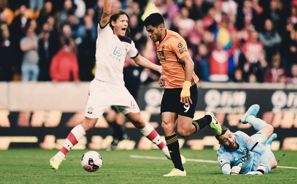Wolves Vs Southampton Gol De Raul Jimenez De Penal Premier Video Mediotiempo