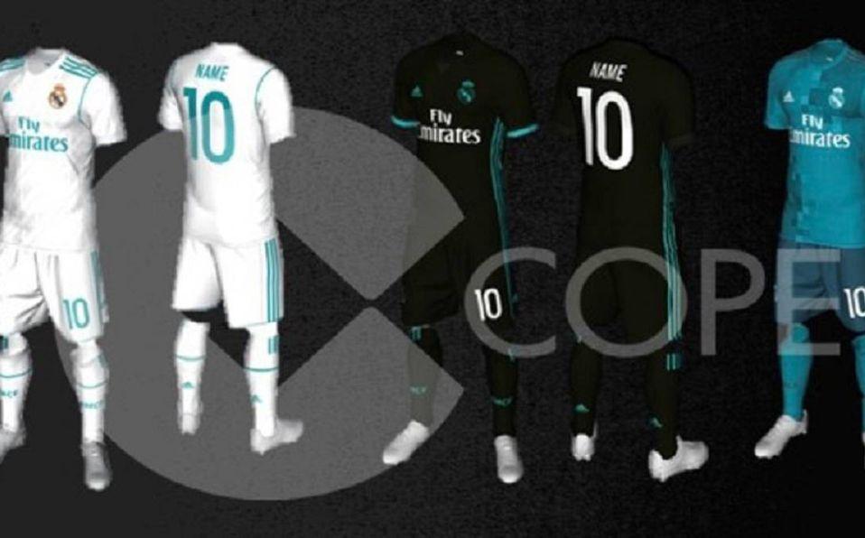 daf1144f294e7 Filtraron posibles nuevas playeras del Real Madrid