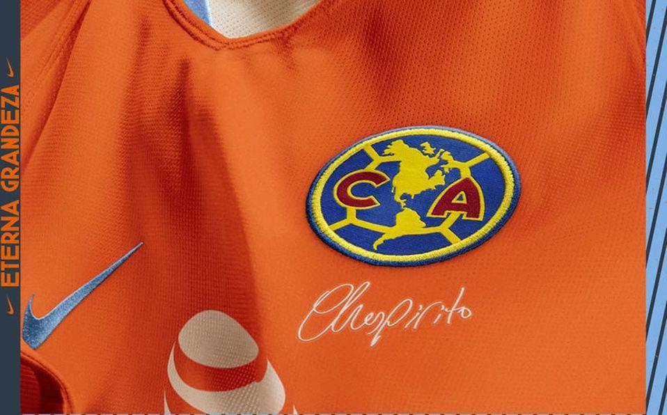4f328b09ab6 América se presentará en la cancha del Azteca ante Pachuca con el tercer  uniforme. (Foto  Club América)