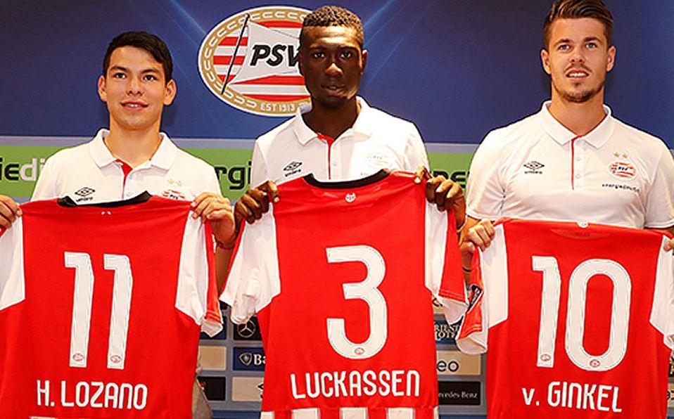 100% authentic aaa1d 2bc5c Chucky Lozano fue presentado de manera oficial con PSV ...