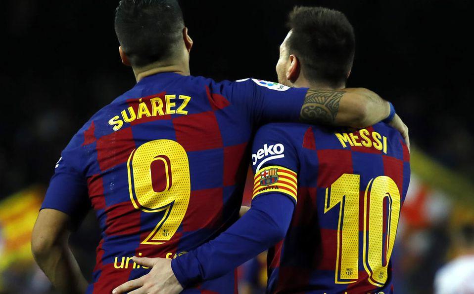 Messi Y Suarez Cenaron Juntos En Barcelona De Que Hablaron Video Mediotiempo