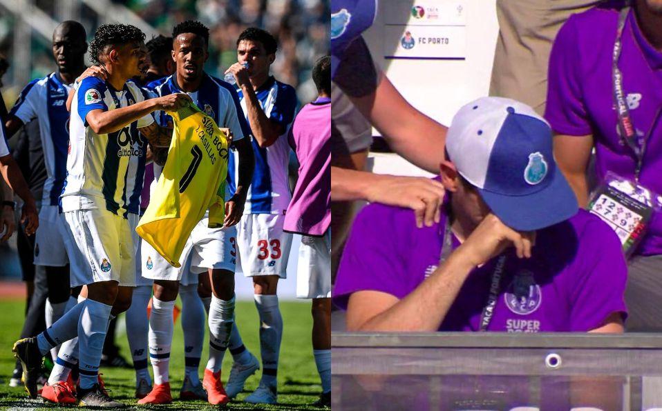 3a253370b72f8 Porto: Iker Casillas rompe en llanto en Final de Copa de Portugal ...