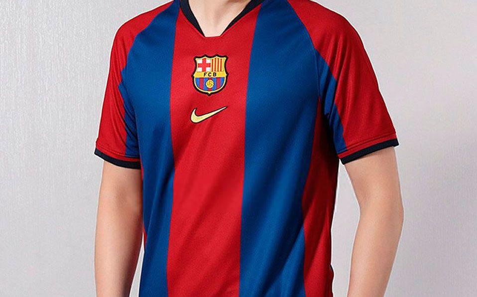 nueva llegada como comprar amplia selección de colores y diseños Barcelona usaría uniforme retro en Clásico de Liga contra ...