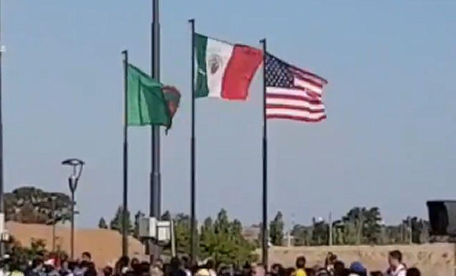 Bandera De México Es Izada Al Revés En Buenos Aires 2018 Mediotiempo