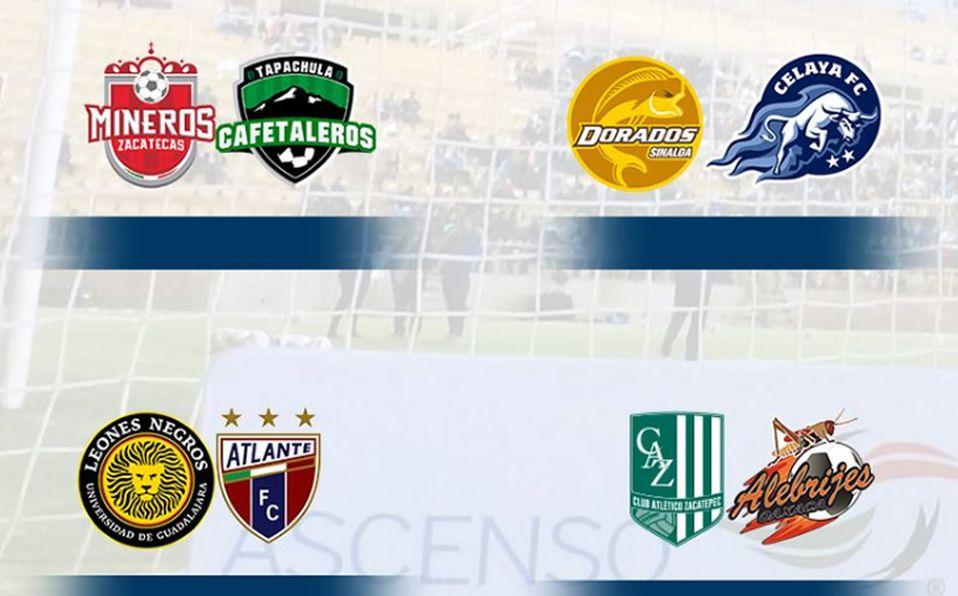 Se definieron los cuartos de final en el Ascenso MX