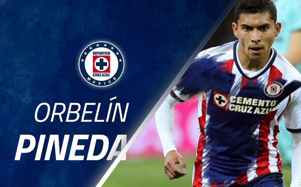 timeless design 59192 aaed2 Cruz Azul anuncia a Orbelín Pineda como refuerzo para el ...