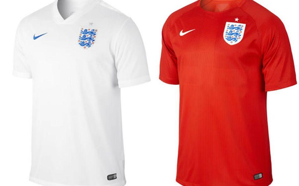 1264d2e0bc8b7 Presentó Inglaterra uniformes para el Mundial