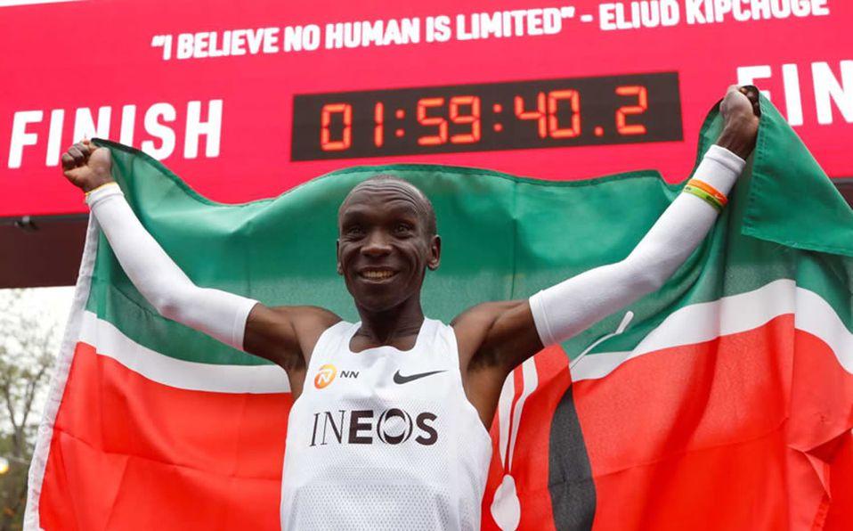 Armstrong Aventurarse Acción de gracias  Eliud Kipchoge corre maratón menos de 2 horas ¿Por qué niegan récord? -  Mediotiempo