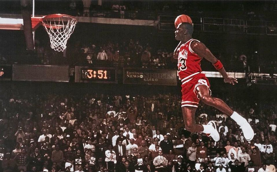 Generosidad contenido Original  Mejores momentos de Michael Jordan por cumpleaños 57 - Mediotiempo