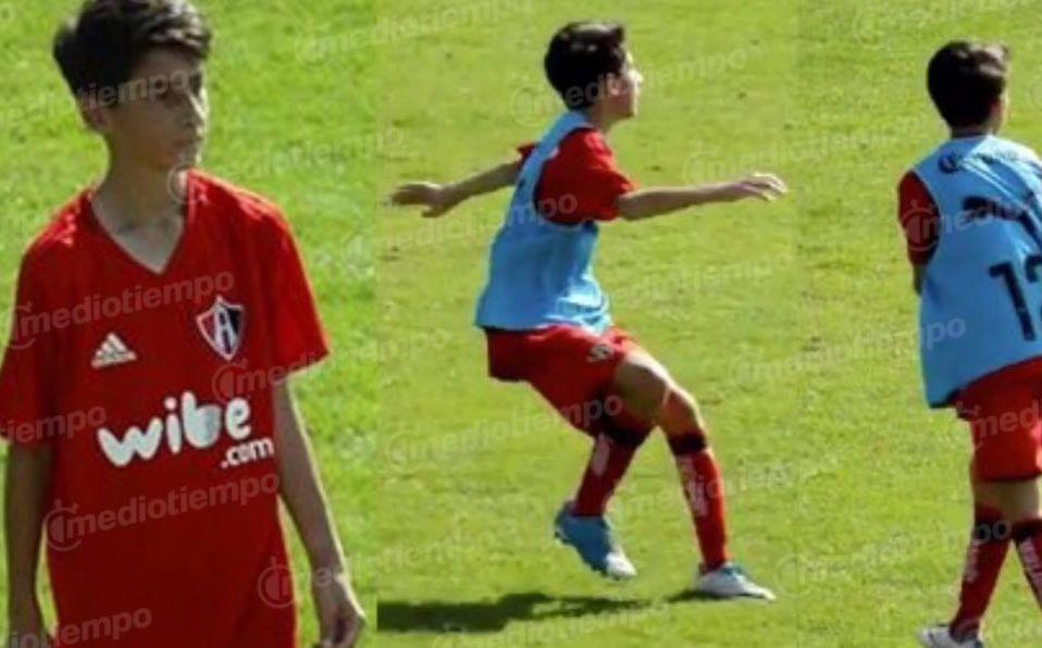 Santiago Hijo De Rafa Márquez Debuta Con La Sub 17 De Atlas Mediotiempo