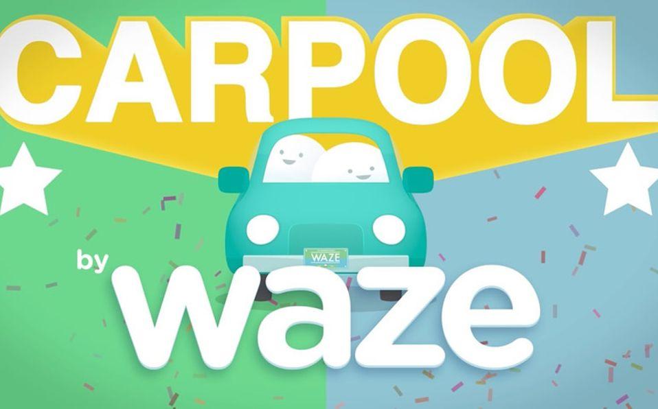 Resultado de imagen para waze carpool cdmx