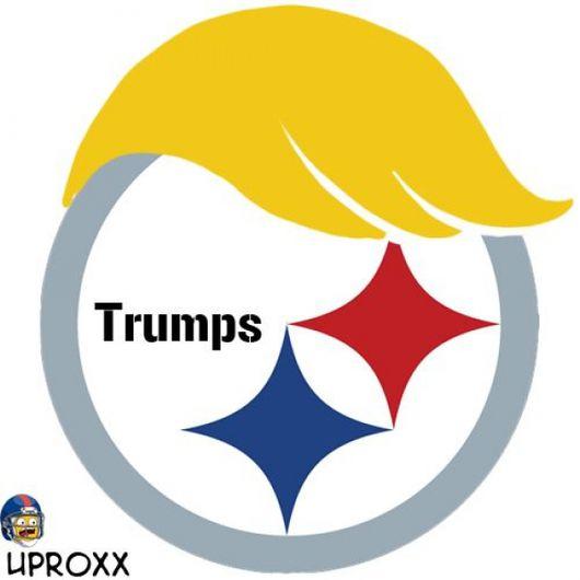 Logos de NFL al estilo Donald Trump. 66d1b73485e