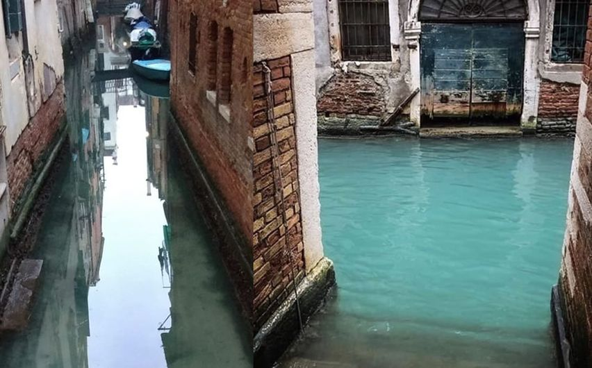 Increíble! Así lucen los cristalinos canales de Venecia tras la ...