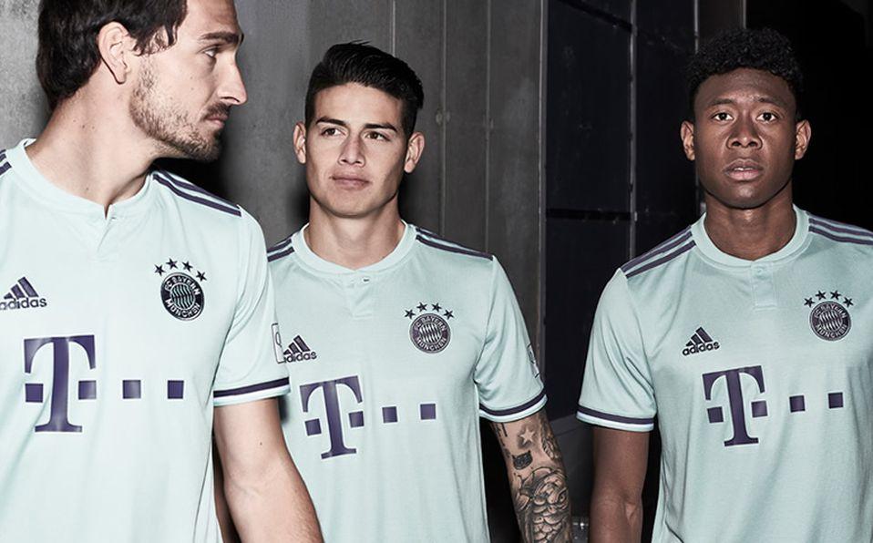 Conoce la tercera playera del Bayern para la temporada 2018-2019 ce0310f015558