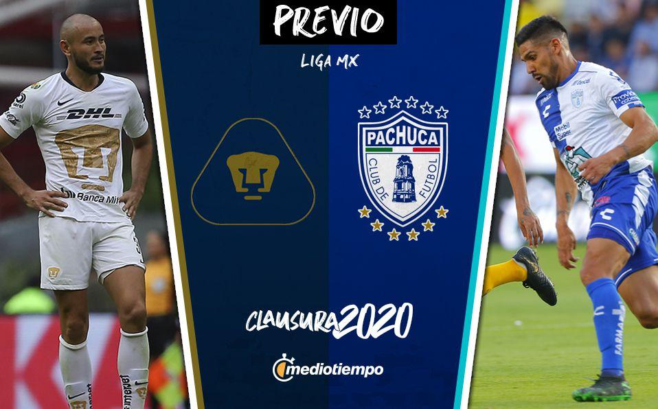 Pumas Vs Pachuca Informacion Previa Jornada 1 Clausura 2020