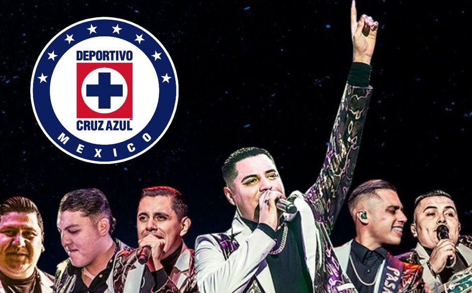 Grupo Firme promete concierto gratis si Cruz Azul es campeón VIDEO - Mediotiempo
