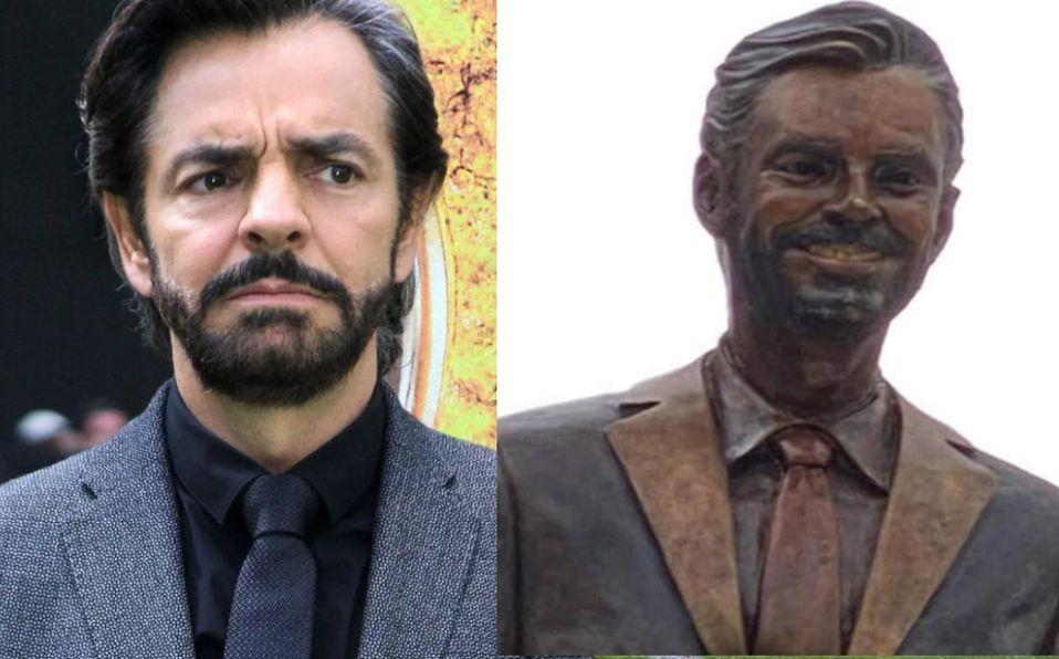 Derbez se ganó su estatua por 'hacer difusión' a Acapulco. (Foto; Especial)