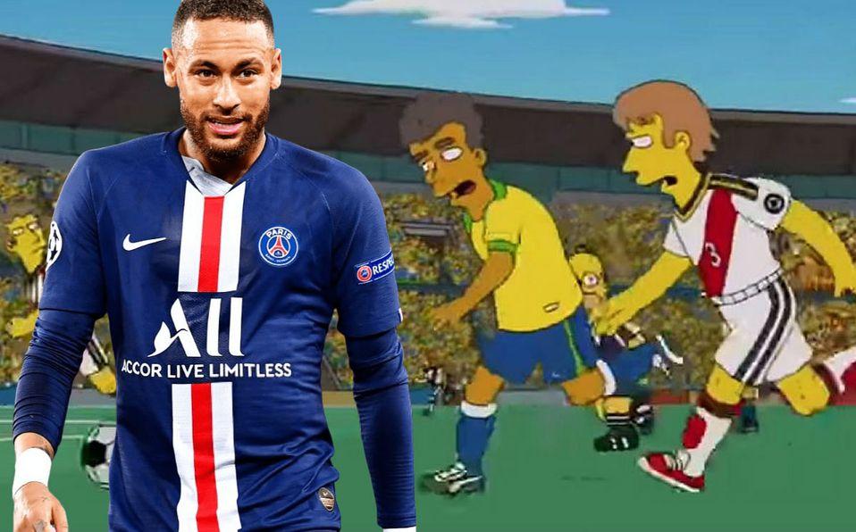 Los Simpson Predicen El Cambio De Nike A Puma De Neymar Foto Mediotiempo