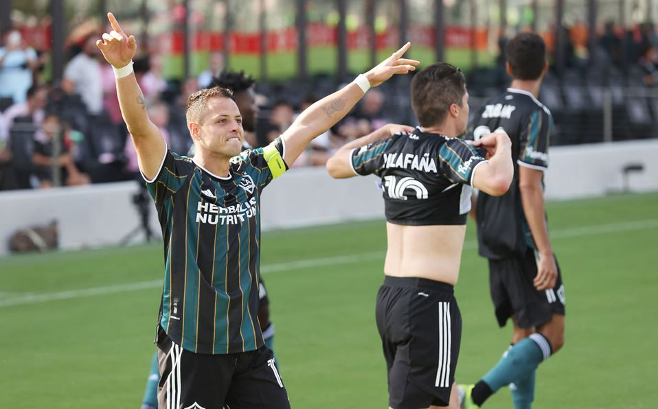 Chicharito Hernández, elegido Jugador de la Semana en la MLS - Mediotiempo