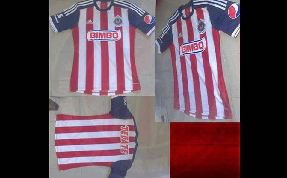 1f89b6dc7 Revelan otra imagen de la posible camiseta de Chivas - Mediotiempo