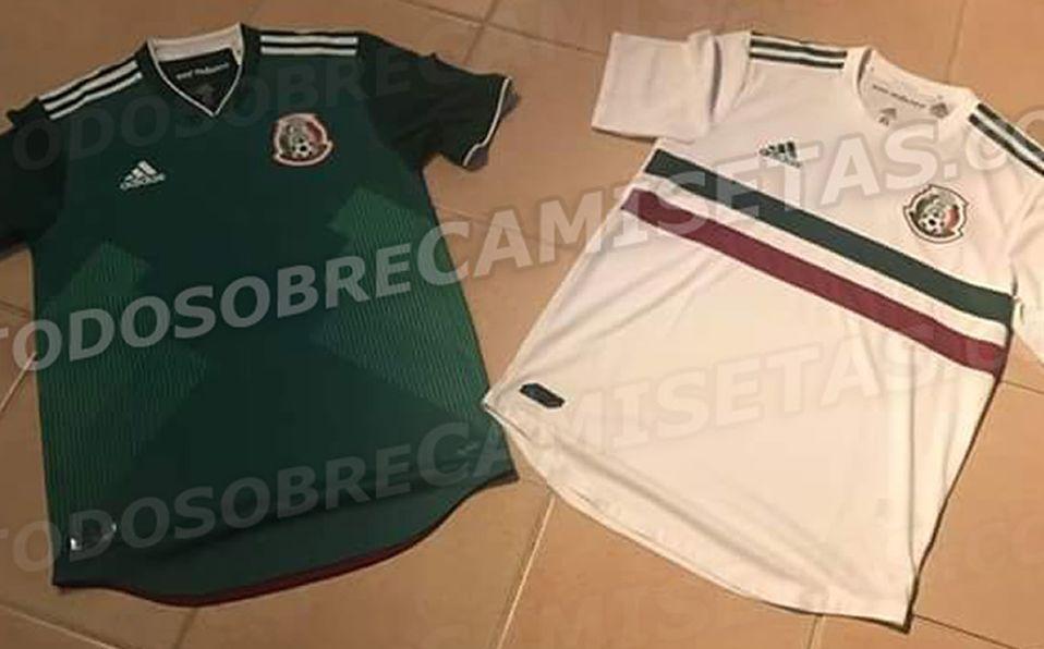 Filtran posibles camisetas del Tri para Confederaciones 858164050eff0