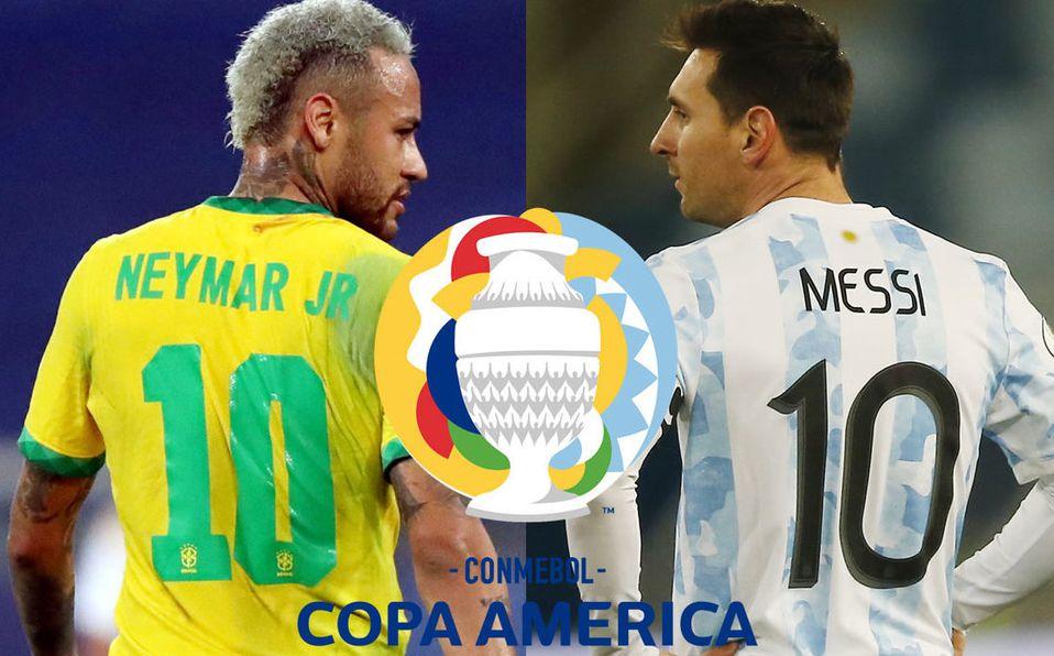 Brasil vs Argentina es Final Copa América. ¿Cuándo es? Fecha y horario -  Mediotiempo