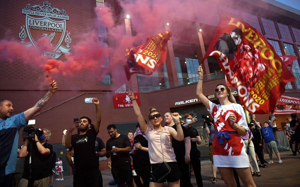 Liverpool Campeón. Locura en Anfield con festejo ¿y la pandemia ...