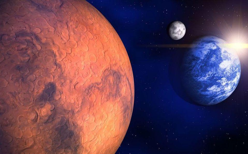 Marte y la Luna se juntarán y podrán ser vistos este jueves - Mediotiempo