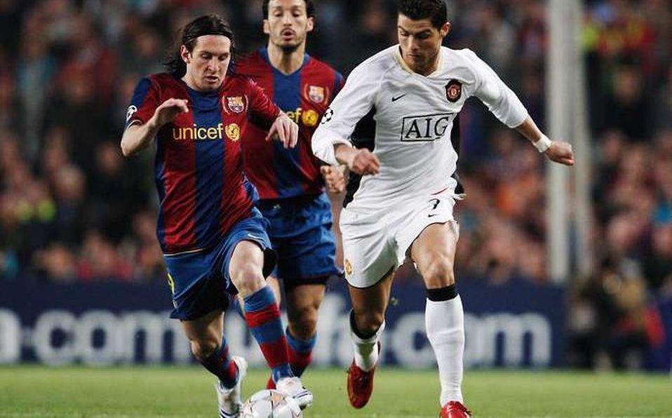 Primer Partido En La Historia Entre Lionel Messi Y Cristiano Ronaldo Mediotiempo