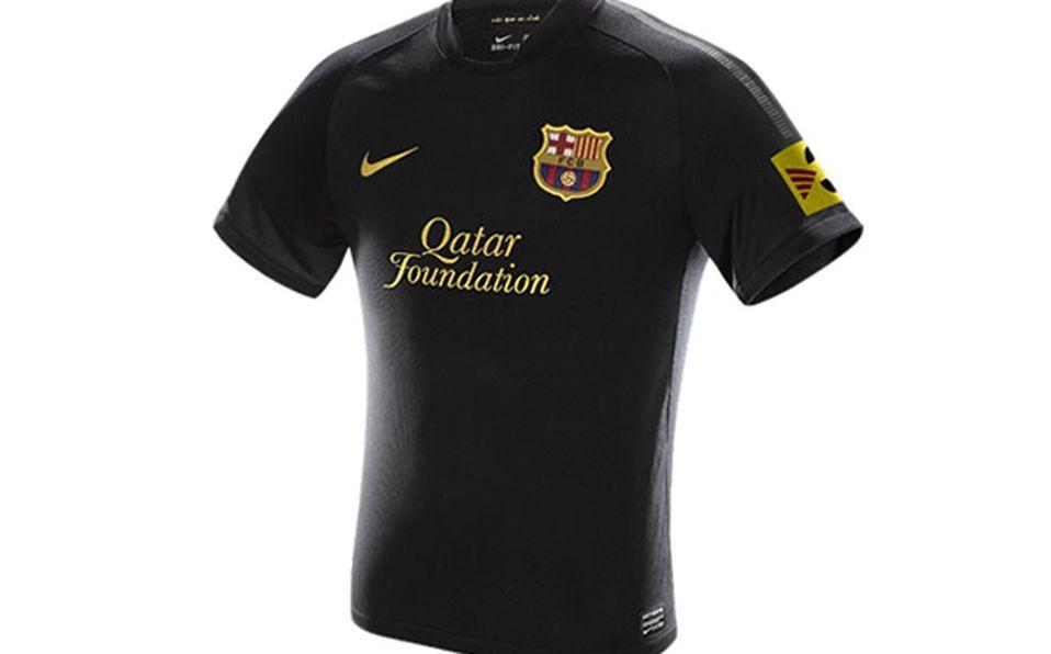 Ventilan uniforme visitante del Barcelona b9891ee19cdba
