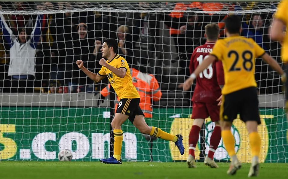 ¡Adiós al Liverpool! Jiménez anotó y Wolves eliminó a los Reds de la FA Cup
