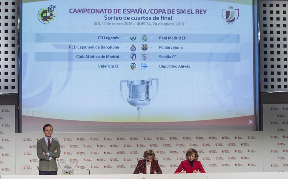 Quedan definidos los cuartos de final de la Copa del Rey; habrá ...