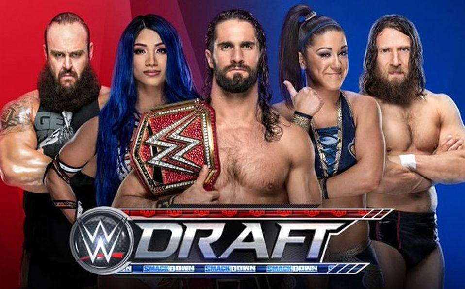 Resultado de imagen para Draft 2019 WWE