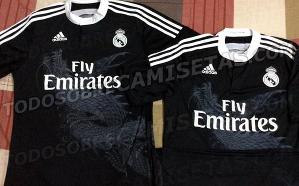 18198febb Tendría dragones tercera camiseta del Real Madrid - Mediotiempo