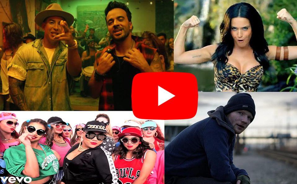Youtube Da A Conocer Los 10 Videos Musicales Más Vistos De La Década Mediotiempo
