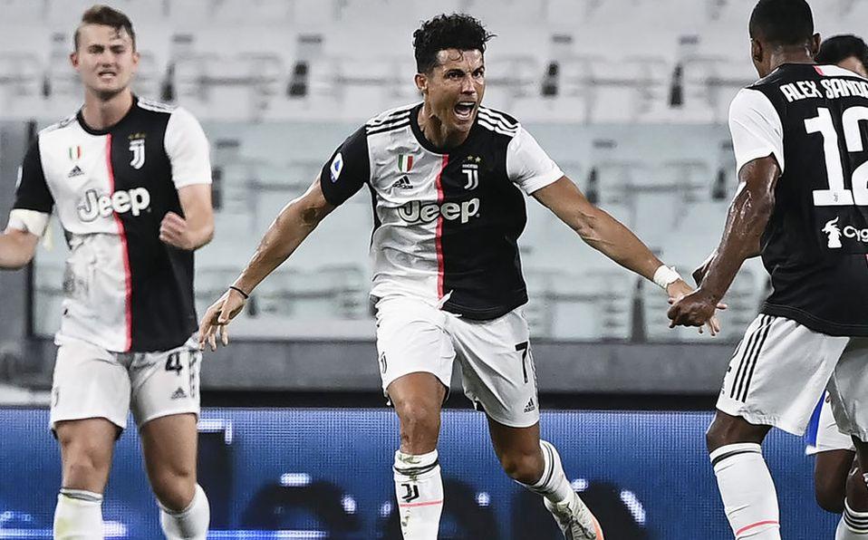 Juventus Campeón Serie A. Cristiano Ronaldo marcó gol del título ...